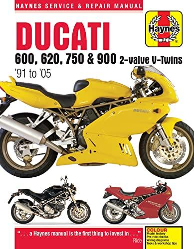 9780857339867: Ducati 600, 620, 750 & 900 2-valve V-Twins '91 to '05 (Haynes Service & Repair Manual)