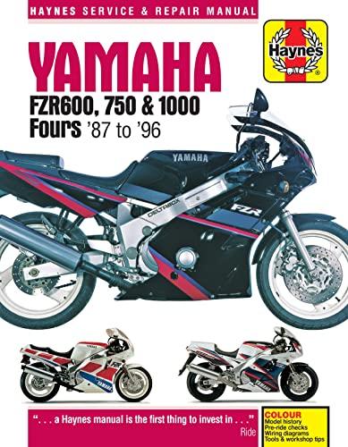 9780857339898: Yamaha FZR600, 750 & 1000 Fours '87 to '96 (Haynes Service & Repair Manual)