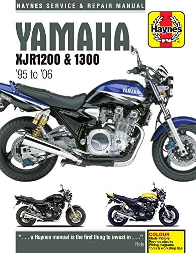 9780857339904: Yamaha XJR 1200/1300 Service and Repair Manual