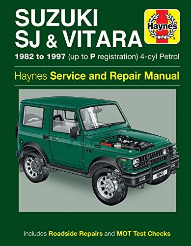9780857339928: Suzuki SJ Series, Vitara, Service and Repair Manual (Haynes Service and Repair Manuals)