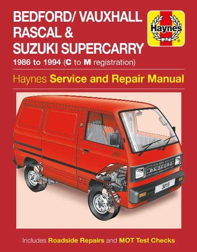 9780857339935: Bedford/Vauxhall Rascal Service and Repair Manual
