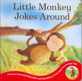 Little Monkey Jokes Around (flockboard)