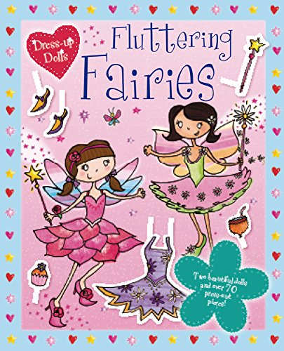 9780857343475: Press Out Dolls: Fairies (Sticker and Activity Book)