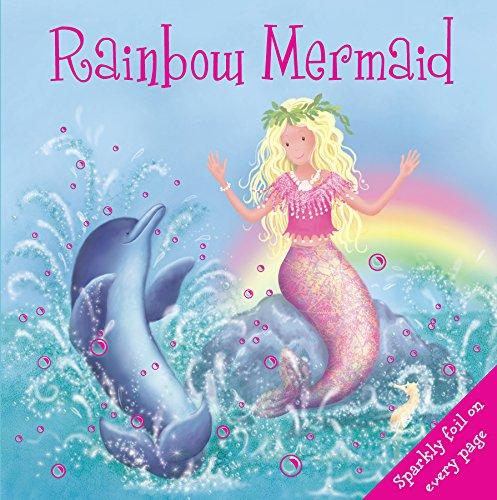 9780857345578: Rainbow Mermaid (Little Petals Board Books)