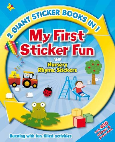 9780857345622: 2in1 My First Sticker and Activity (Jumbo Stickers)