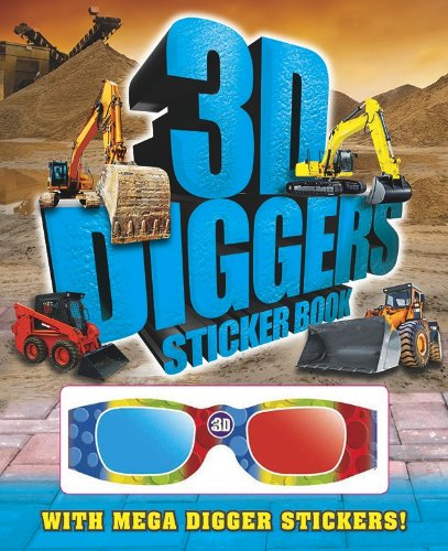 9780857346940: Diggers (3D Activity Books)