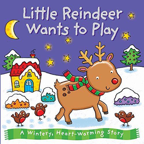 9780857348494: Little Reindeer Wants to Play (Xmas Board)
