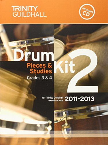 Drum Kit: Grades 3 & 4 Bk.: Trinity Guildhall
