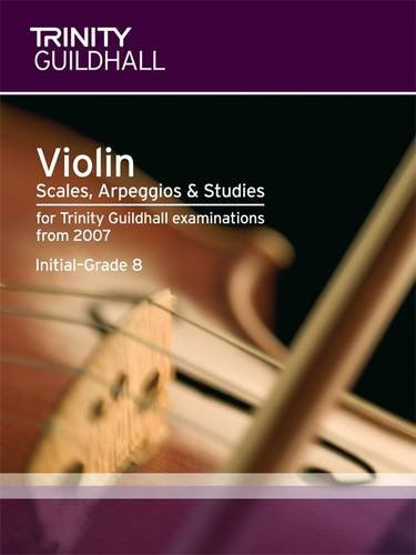 9780857360458: Violin Scales, Exercises & Studies Initial-Grade 8 (Trinity Scales & Arpeggios)