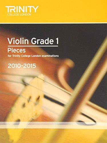 9780857360502: Violin Exam Pieces Grade 1 2010-2015 (score + Part) (Trinity Guildhall Violin Examination Pieces 2010-2015)