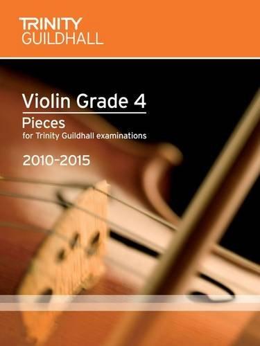 9780857360533: Violin Exam Pieces Grade 4 2010-2015 (score + Part)