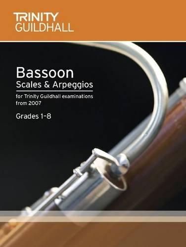 9780857360946: Bassoon Scales & Arpeggios Grades 1-8 (Trinity Scales & Arpeggios)