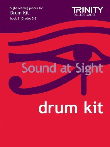 9780857361264: Sound at Sight Drum Kit Book 2: Grades 5-8