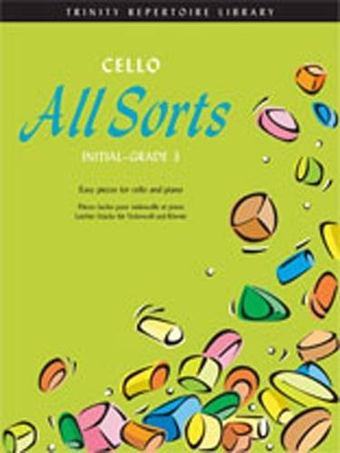 9780857361295: Cello All Sorts Initial-Grade 3 (Trinity Repertoire Library: Allsorts Series)