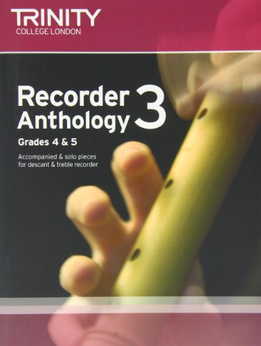 9780857361738: Recorder Anthology (Grades 4-5) (Trinity Anthologies)