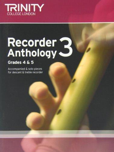 9780857361738: Recorder Anthology (Grades 4-5): Score & Part Book 1