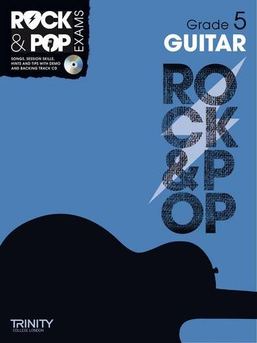 9780857362230: Trinity Rock & Pop Guitar Grade 5