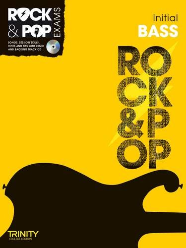 9780857362278: Trinity Rock & Pop Exams: Bass Initial Grade