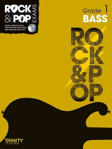 9780857362285: Trinity Rock & Pop Exams: Bass Grade 1