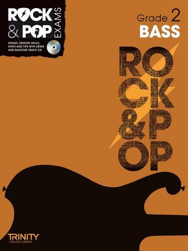 9780857362292: Trinity Rock & Pop Exams: Bass Grade 2