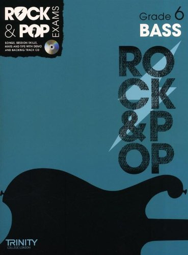 9780857362339: Trinity Rock & Pop Exams: Bass Grade 6