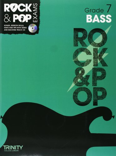 9780857362346: Trinity Rock & Pop Exams: Bass Grade 7