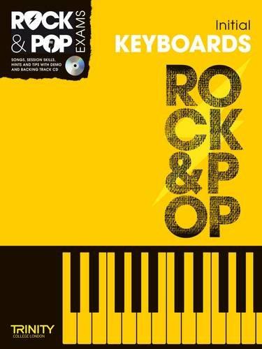 9780857362360: Trinity Rock & Pop Exams: Keyboards Initial Grade