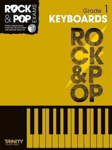 9780857362377: Trinity Rock & Pop Exams: Keyboards Grade 1