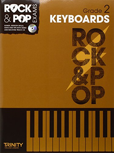 9780857362384: Trinity Rock & Pop Exams: Keyboards Grade 2
