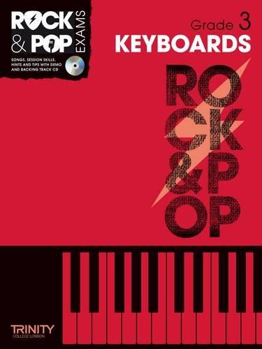9780857362391: Trinity Rock & Pop Exams: Keyboards Grade 3