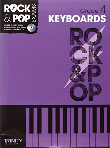 9780857362407: Trinity Rock & Pop Keyboards Grade 4