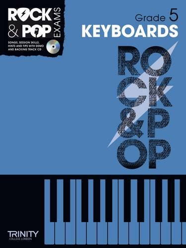 9780857362414: Trinity Rock & Pop Keyboards Grade 5