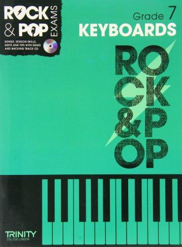 9780857362438: Trinity Rock & Pop Keyboards Grade 7