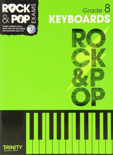 9780857362445: Trinity Rock & Pop Keyboards Grade 8
