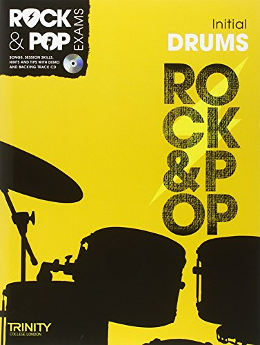 9780857362452: Trinity Rock & Pop Exams: Drums Initial Grade