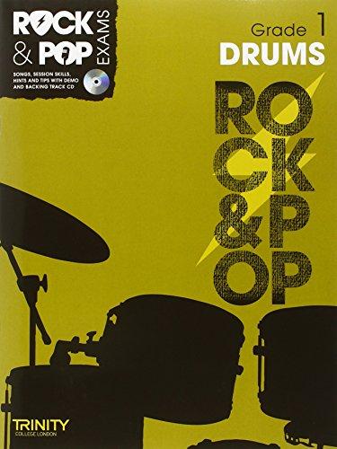 9780857362469: Trinity Rock & Pop Exams: Drums Grade 1