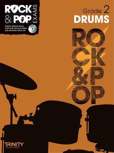 9780857362476: Trinity Rock & Pop Exams: Drums Grade 2