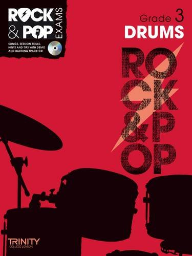 9780857362483: Trinity Rock & Pop Exams: Drums Grade 3