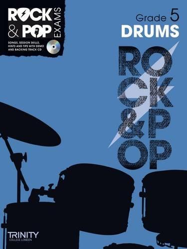 9780857362506: Trinity Rock & Pop Drums Grade 5