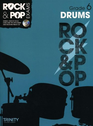 9780857362513: Trinity Rock & Pop Exams: Drums Grade 6