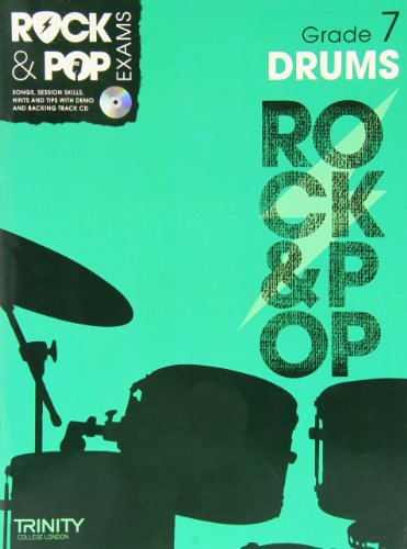 9780857362520: Trinity Rock & Pop Exams: Drums Grade 7