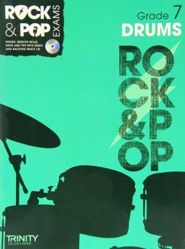 9780857362520: Trinity Rock & Pop Exams: Drums Grade 7