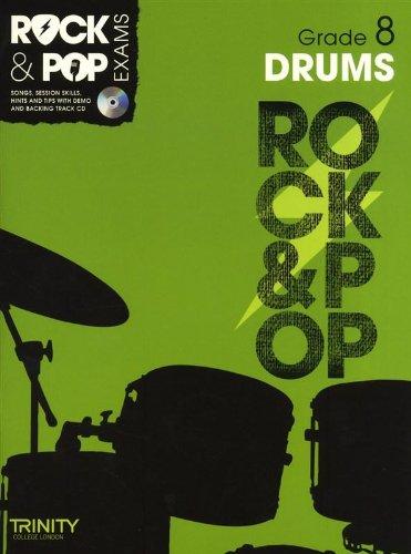9780857362537: Trinity Rock & Pop Exams: Drums Grade 8