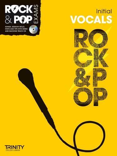 9780857362544: Trinity Rock & Pop Exams: Vocals Initial Grade