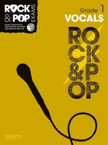 9780857362551: Trinity Rock & Pop Exams: Vocals Grade 1