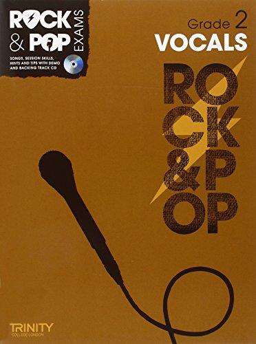 9780857362568: Trinity Rock & Pop Exams: Vocals Grade 2