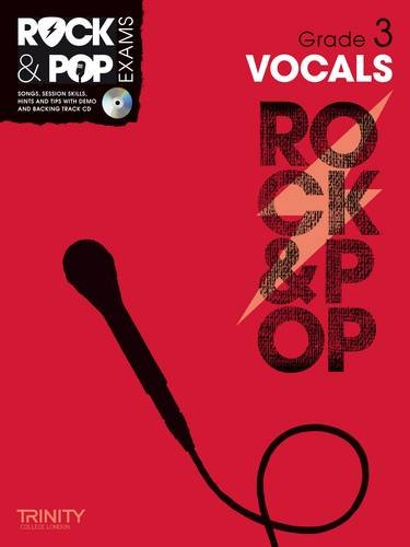 9780857362575: Trinity Rock & Pop Exams: Vocals Grade 3