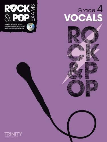 9780857362582: Trinity Rock & Pop Vocals Grade 4