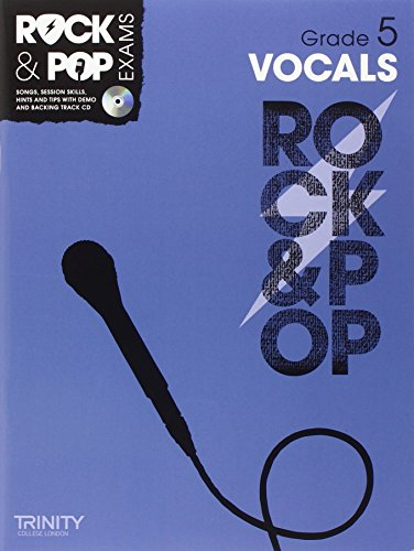 9780857362599: Trinity Rock & Pop Vocals Grade 5