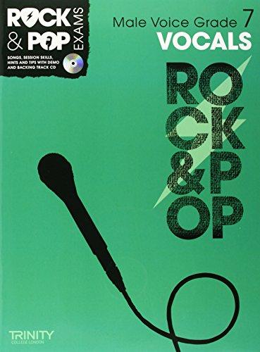 9780857362612: Trinity Rock & Pop Exams: Vocals Grade 7 (Male Voice)
